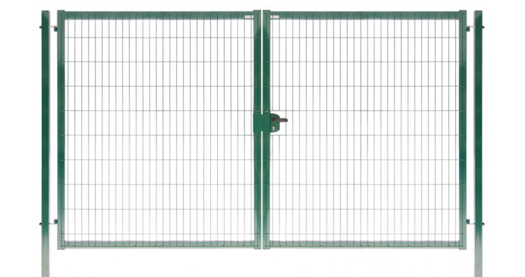 Ворота Medium New Lock 1,73х4,0 RAL 6005